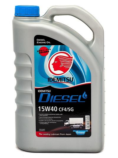 Моторное масло IDEMITSU DIESEL CF-4SG 15W40 (5л)