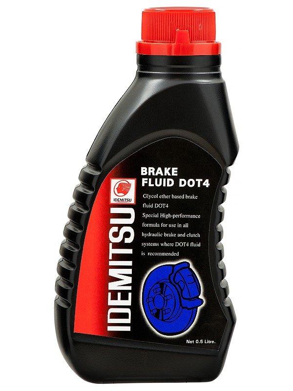 Тормозная жидкость BRAKE FLUID DOT-4 (0.5л)