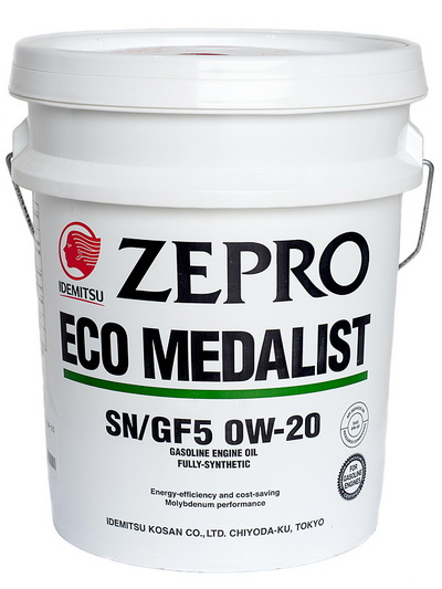 Моторное масло ZEPRO ECO MEDALIST  0W20  20L