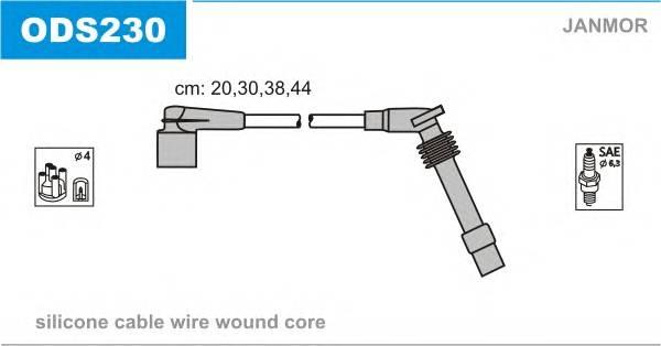 Комплект проводов зажигания OPEL ASTRA 94- CORSA B фургон