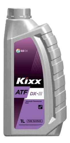 KIXX ATF DX-III 1L МАСЛО ТРАНСМИССИОННОЕ . DEXRON III  Ford MERCON  Allison C4 (