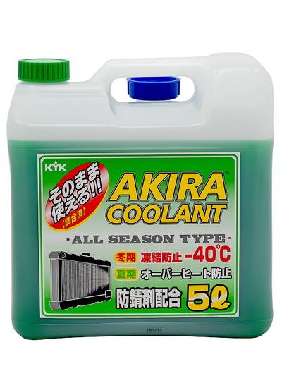 Антифриз  AKIRA COOLANT - 40°C (зеленый)  5L