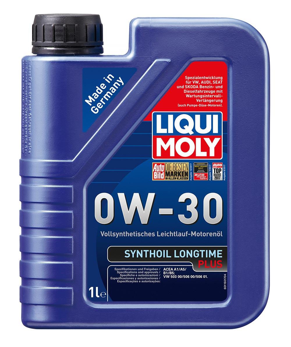 Масло моторное синт.0W30 Synthoil Longtime Plus 1л ACEA A1 ACEA A5 ACEA B1 ACEA