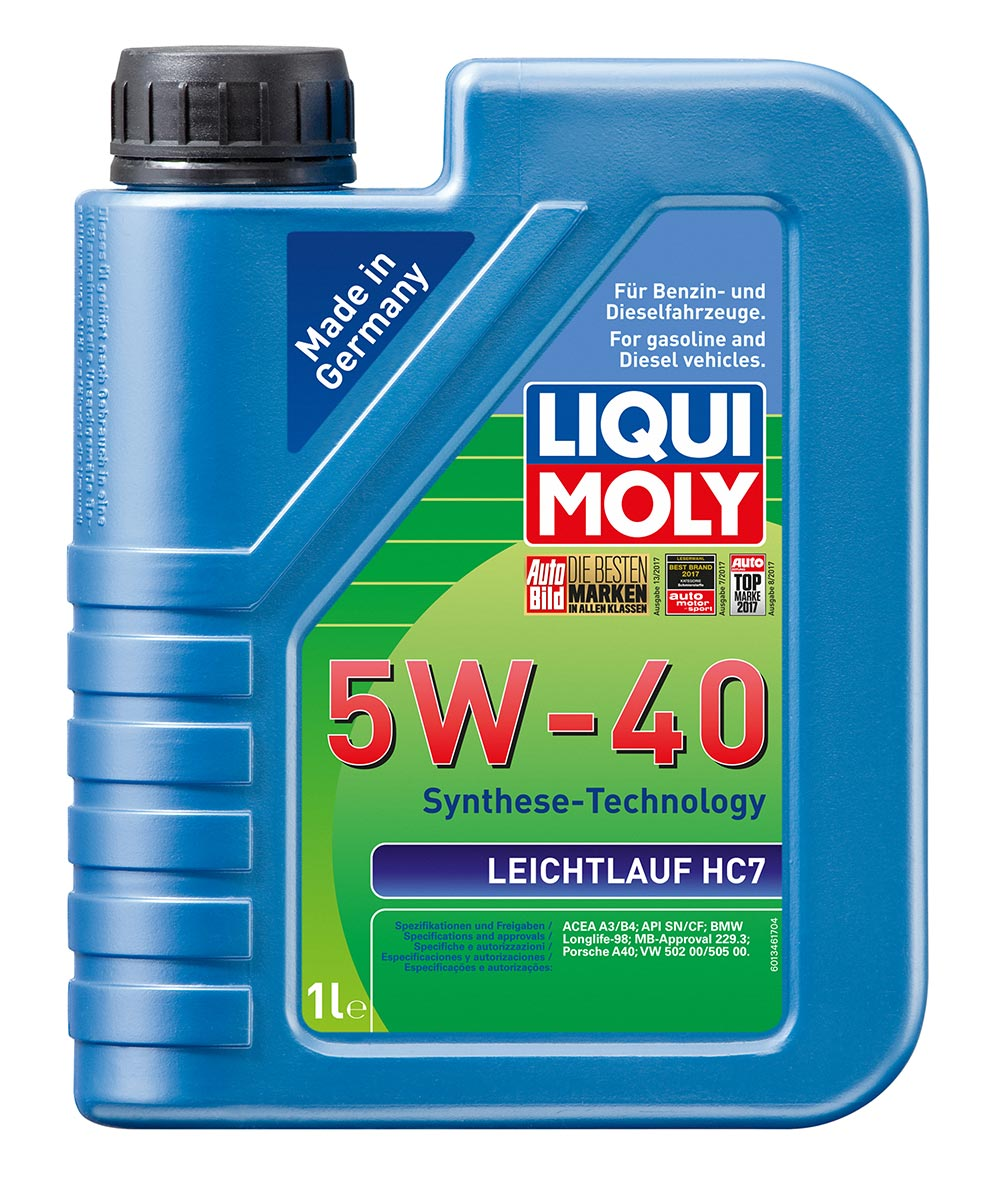 Масло моторное синт.5W40 Leichtlauf HC7 1л ACEA A3 ACEA B4 API SN BMW Longlife-9