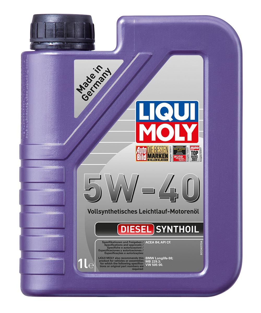 Масло моторное синт. Diesel Synthoil 5W-40 (1л) пластик