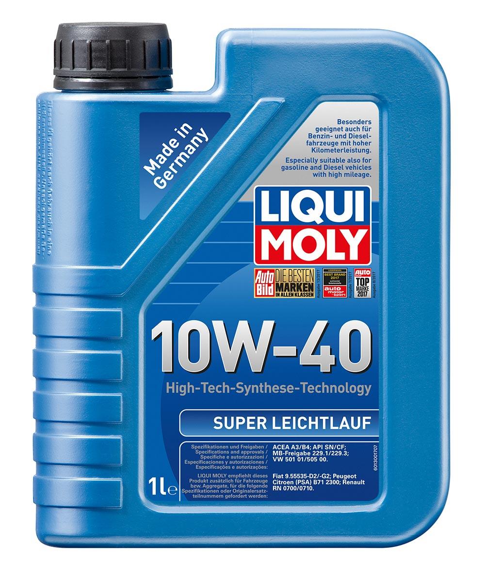 Масло моторное синт.10W40 Super Leichtlauf 1л АPI SL/CF.ACEA A3-04/B4-04:MB229.1