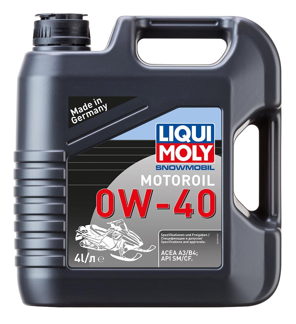 Масло моторное синт. Snowmobil Motoroil 0W-40 (4л)