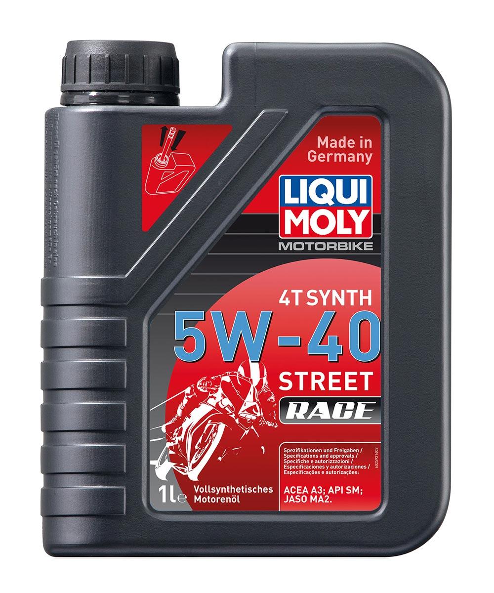 Масло моторное синт. Motorbike 4T Synth Street Race 5W-40 (1л)