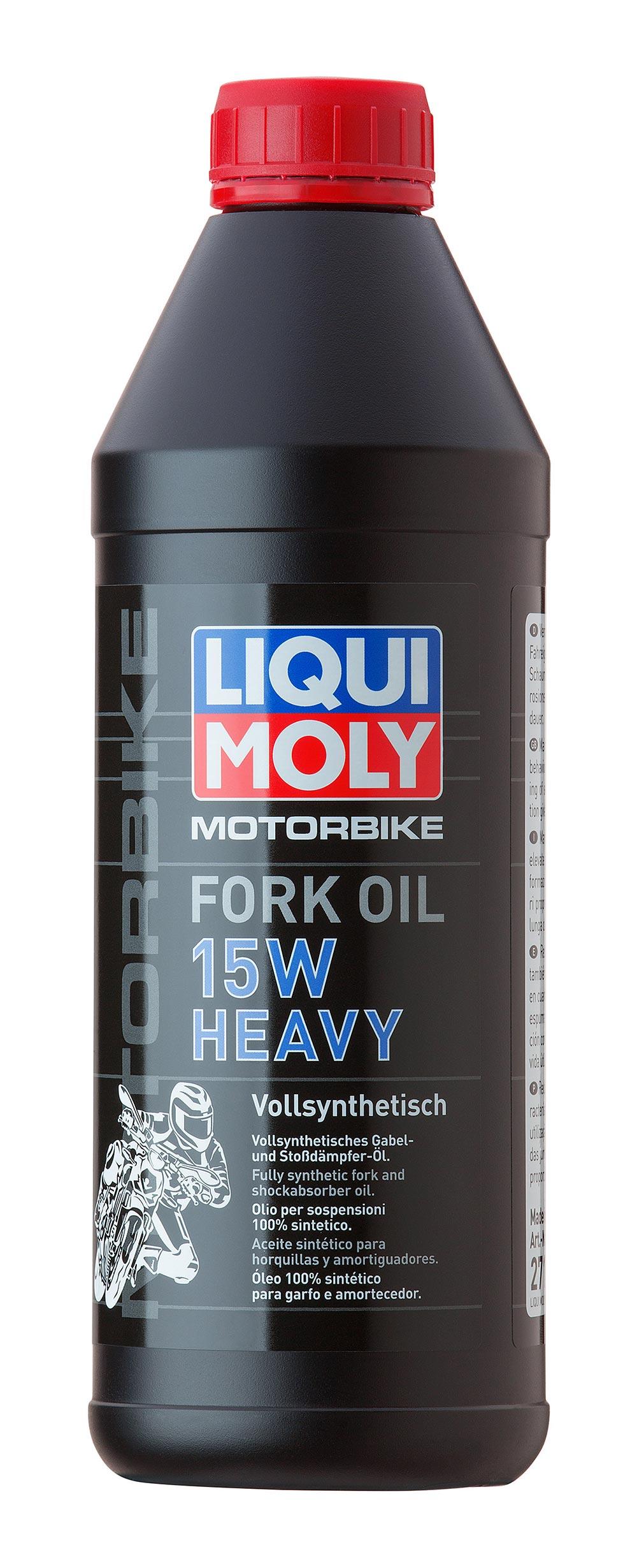 Масло для вилок и амортизаторов синт.Motorbike Fork Oil 15W Heavy 1л