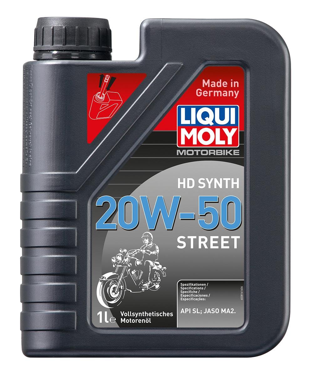 Масло моторное синт.Motorbike 4T HD Synth 20W-50 Street API SL JASO MA2 1л