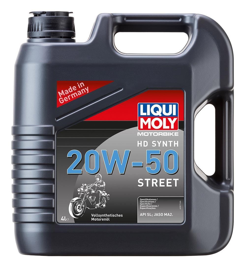 Масло моторное синт.Motorbike 4T HD Synth 20W-50 Street API SL JASO MA2 4л