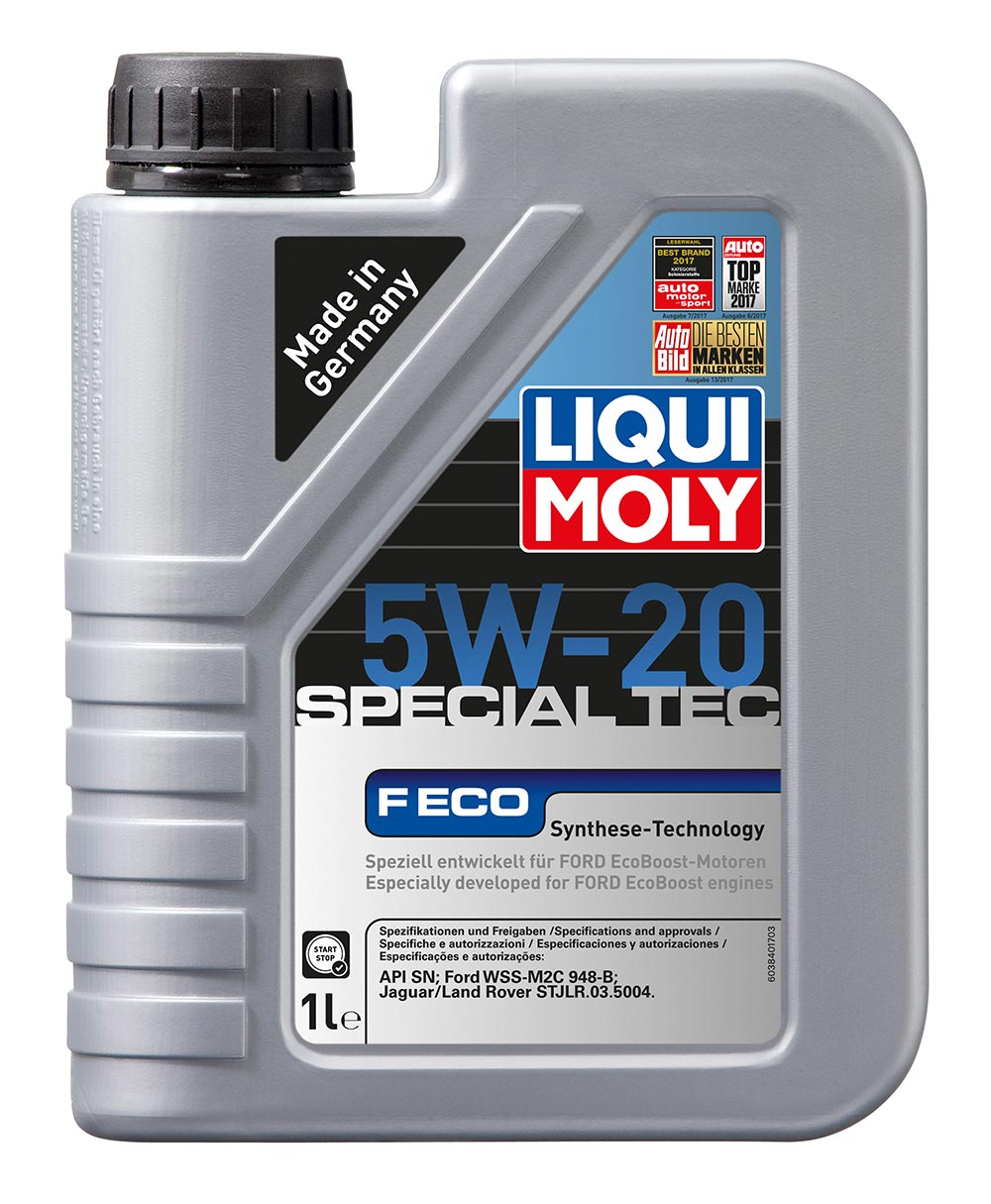 Масло моторное синт. 5W20 Special Tес F ECO 1л ACEA C5 API SN Ford WSS