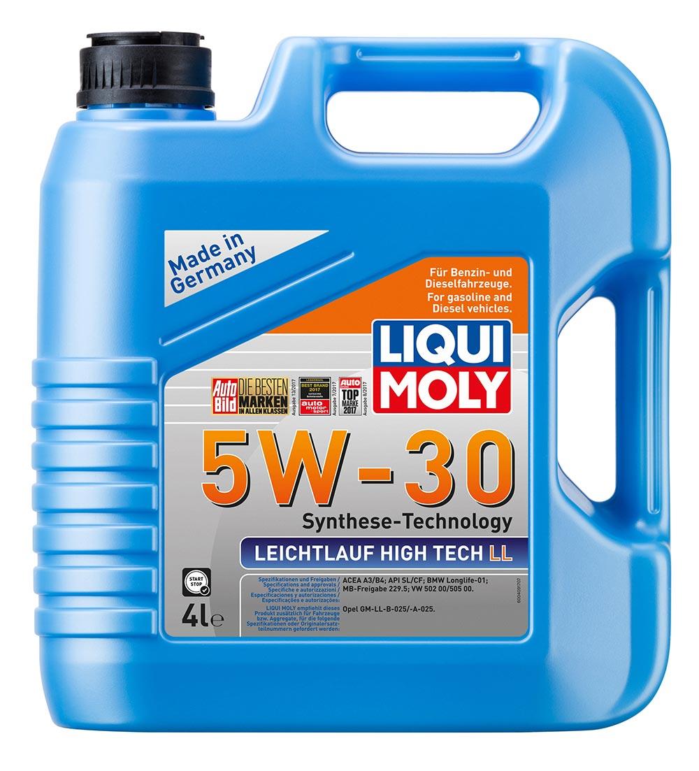 Масло моторное синт.5W30 Leichtlauf High Tech LL4л API SL/CF. A3/B4. BMW Longlif