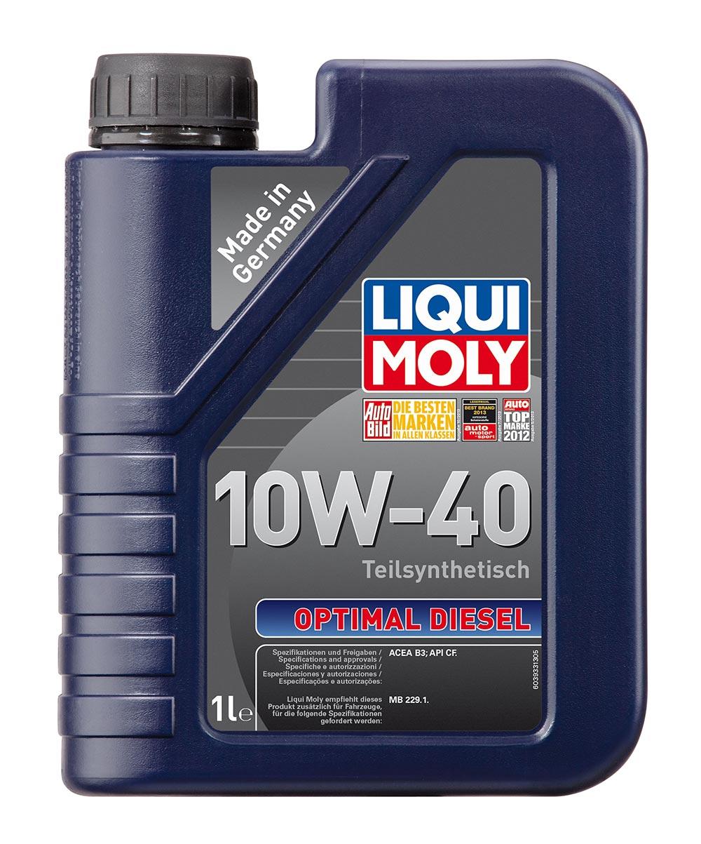 Масло моторное синт.10W40 Optimal Diesel 1л ACEA B3 API CF MB 229.1