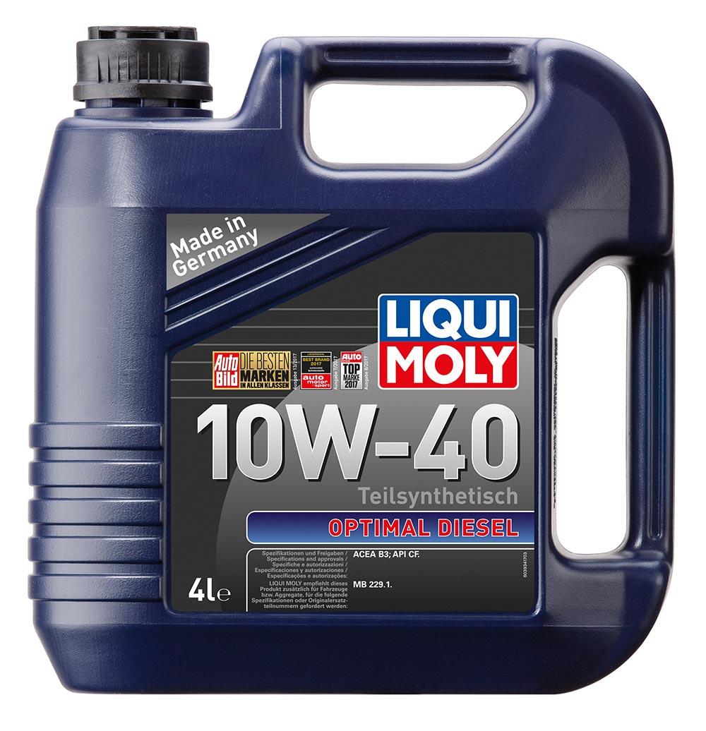 Масло моторное синт.10W40 Optimal Diesel 4л ACEA B3 API CF MB 229.1