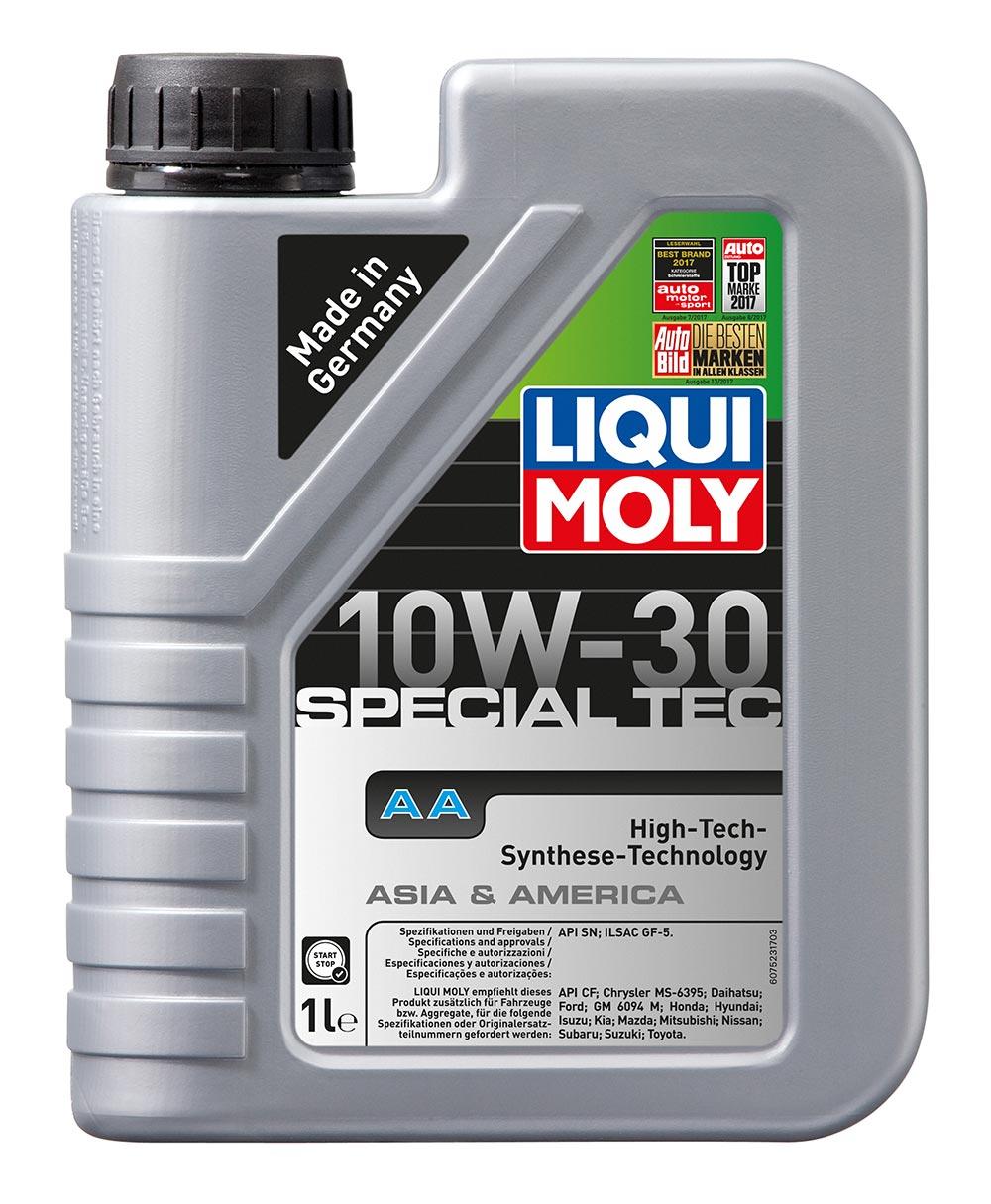 спец. для американских и японских авто.  LM  Leichtlauf Special AA 10w30   1л (1