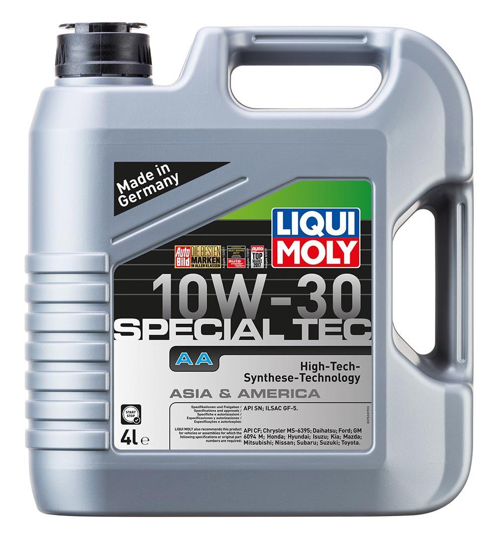 спец. для американских и японских авто. LM  Leichtlauf Special AA 10w30   4л (4ш