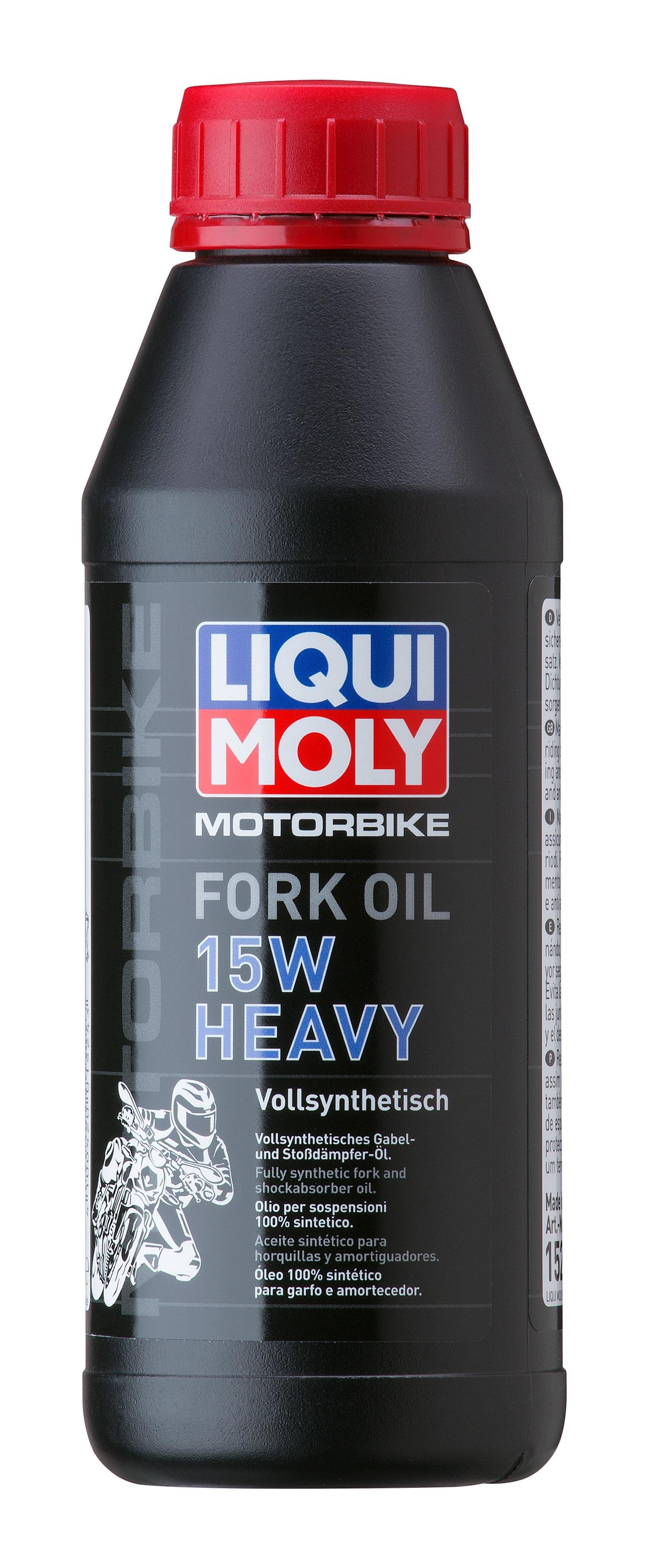 Синт.масло д вилок и амортиз. Mottorad Fork Oil Heavy 15W(0 5л)