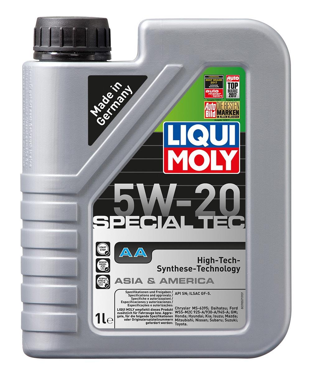 Масло моторное синт. 5W20 Special Tec AA 1л API SN ILSAC GF-5 Chrysler MS-6395 F