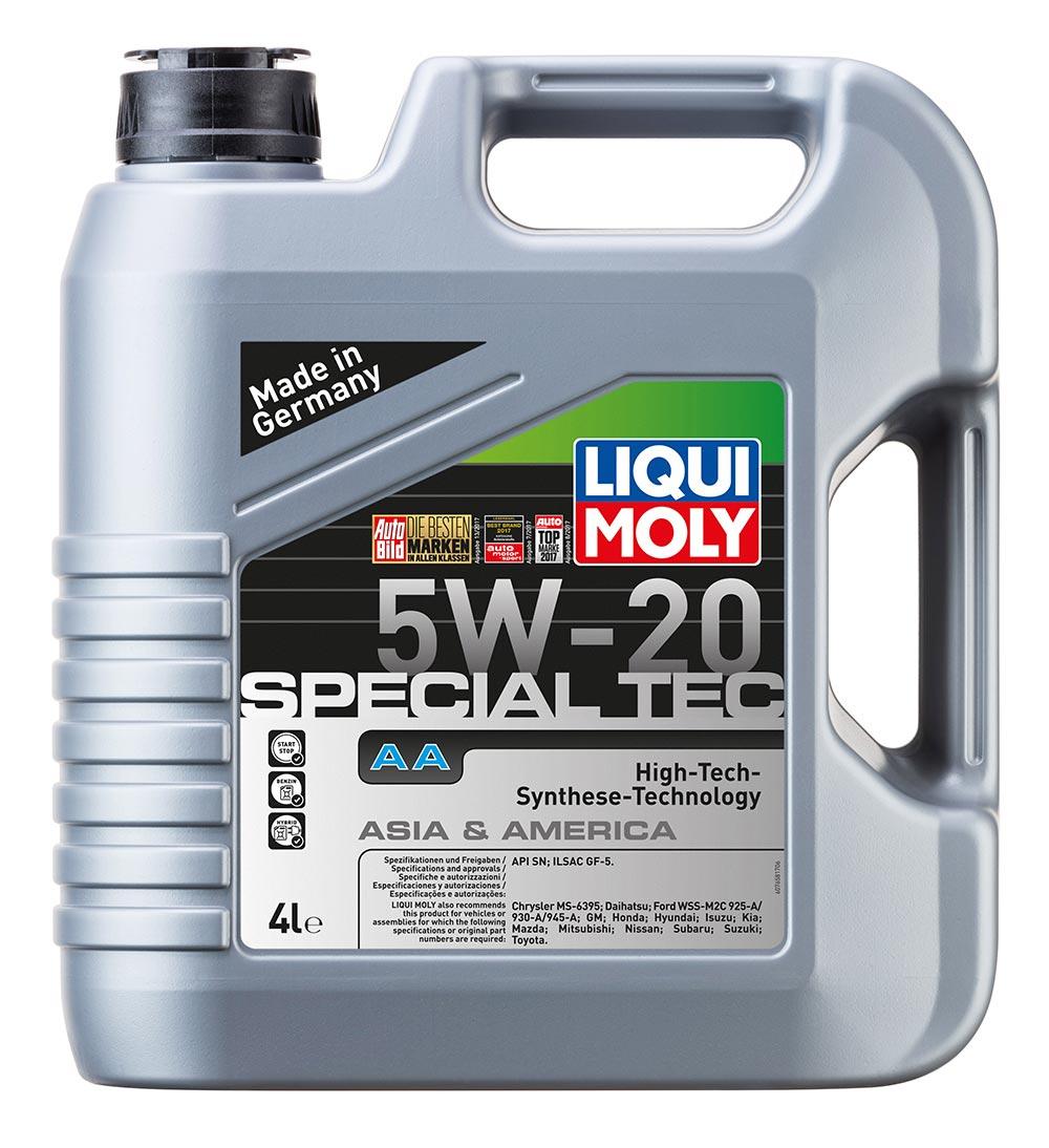 Масло моторное синт. 5W20 Special Tec AA 4л API SN ILSAC GF-5 Chrysler MS-6395 F