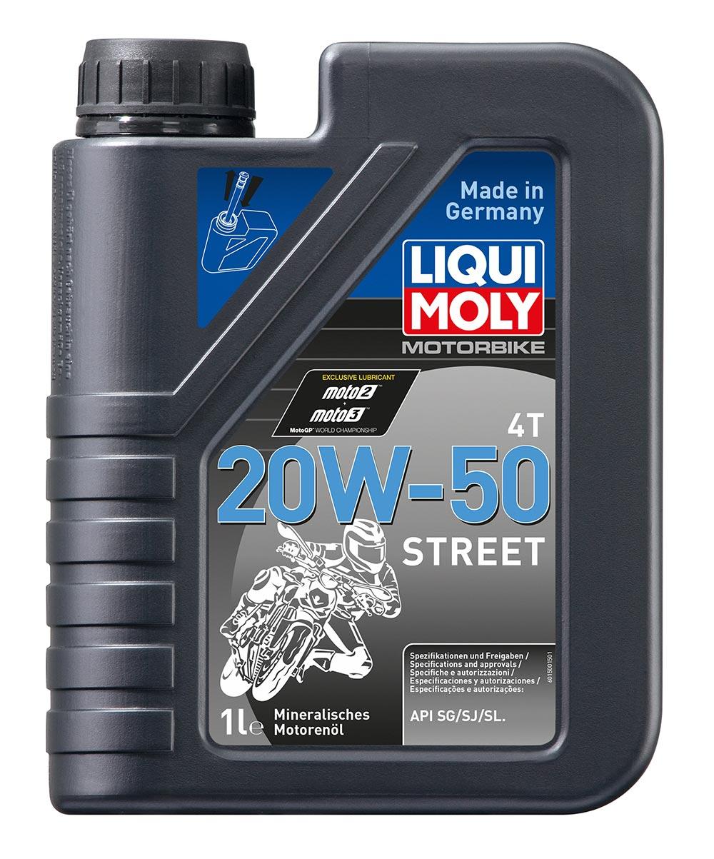 Масло моторное минерал. Motorbike 4T HD Synth Street 20W-50 (1л)