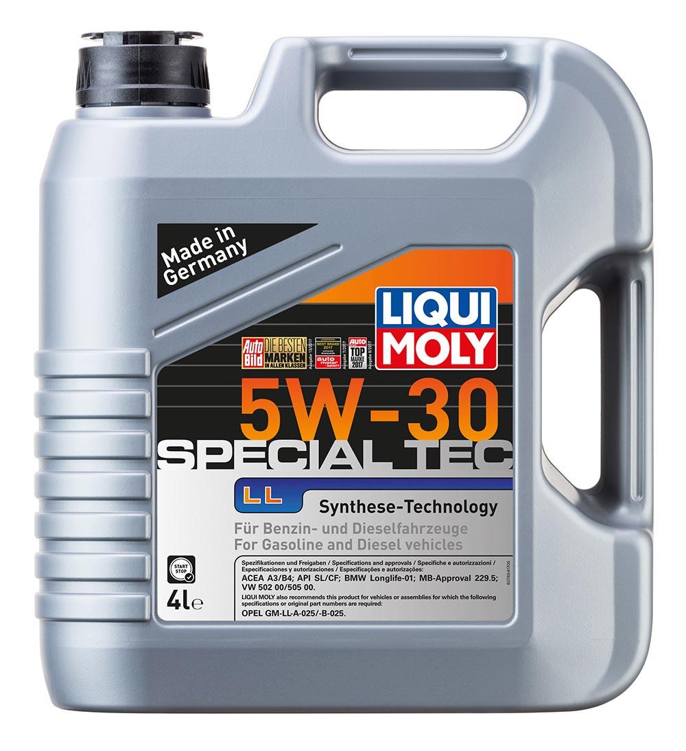Масло моторное синт. 5W30 Special Tec LL 4л ACEA A3 ACEA B4 API SL BMW Longlife-