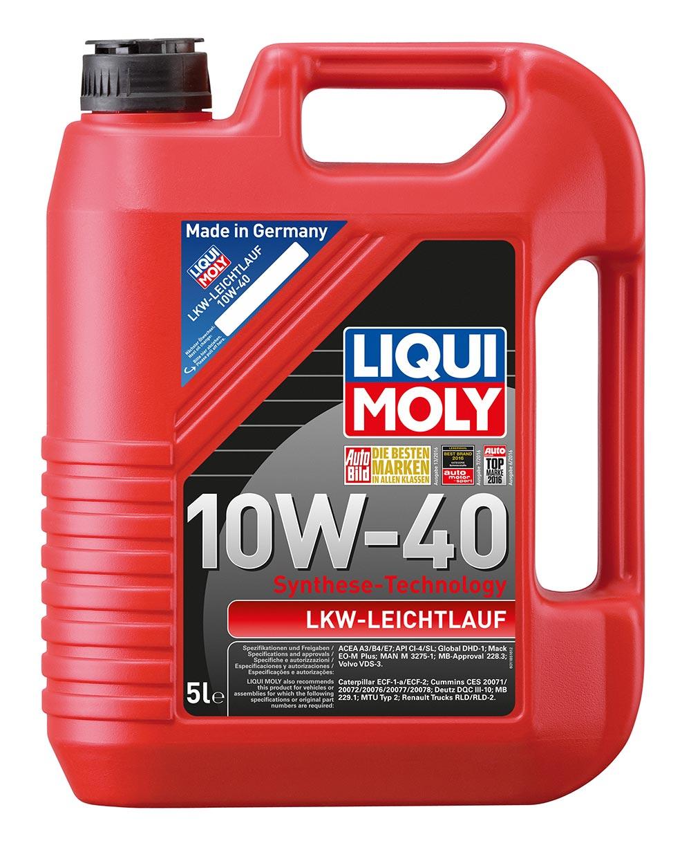 Масло моторное полусинт. LKW-Leichtlauf-Motoroil Basic 10W-40 (5л) пластик