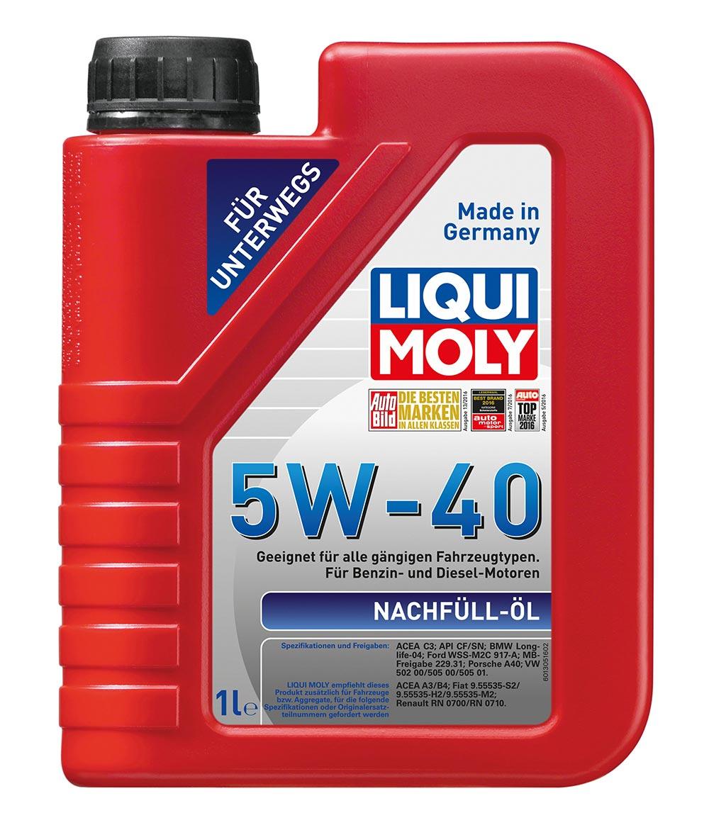 Масло моторное синт.5W40 Nachfull Oil 1л ACEA C3 API SN API CF BMW Longlife-04