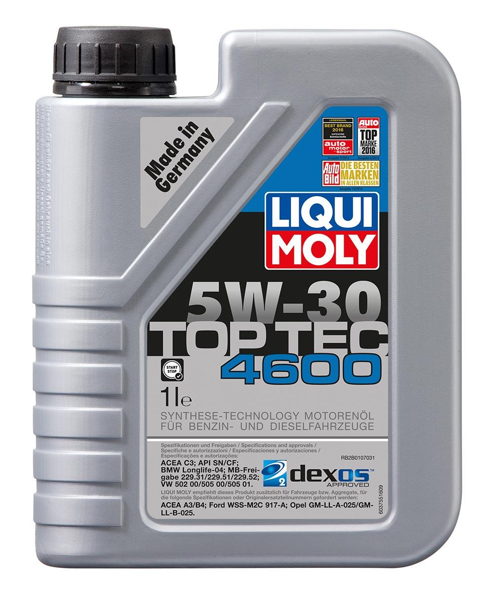 Масло моторное синт. 5W30 Top Tec 4600 1л ACEA C3 API SN API CF BMW Longlife-04