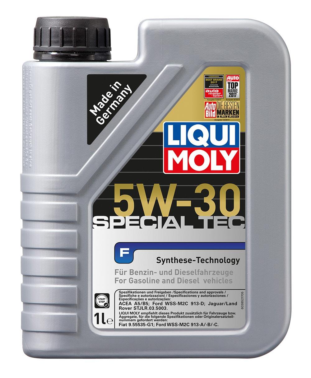 Масло моторное синт. 5W30 Special Tec F 1л ACEA A5/B5. Ford WSS-M2C 913-A/B/C