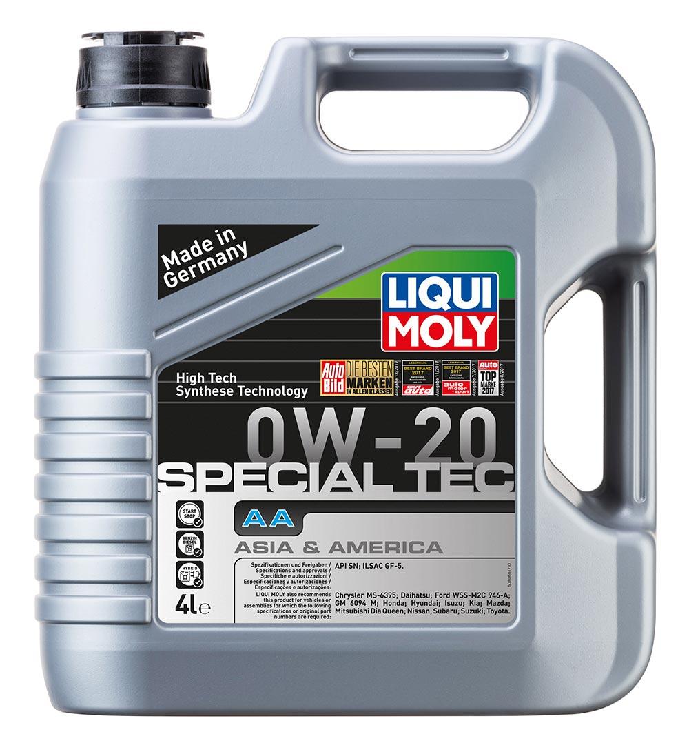 Масло моторное синт. 0W20 Special Tec AA 4л API SN. ILSAC GF 5/Ford M2C 946-A. S