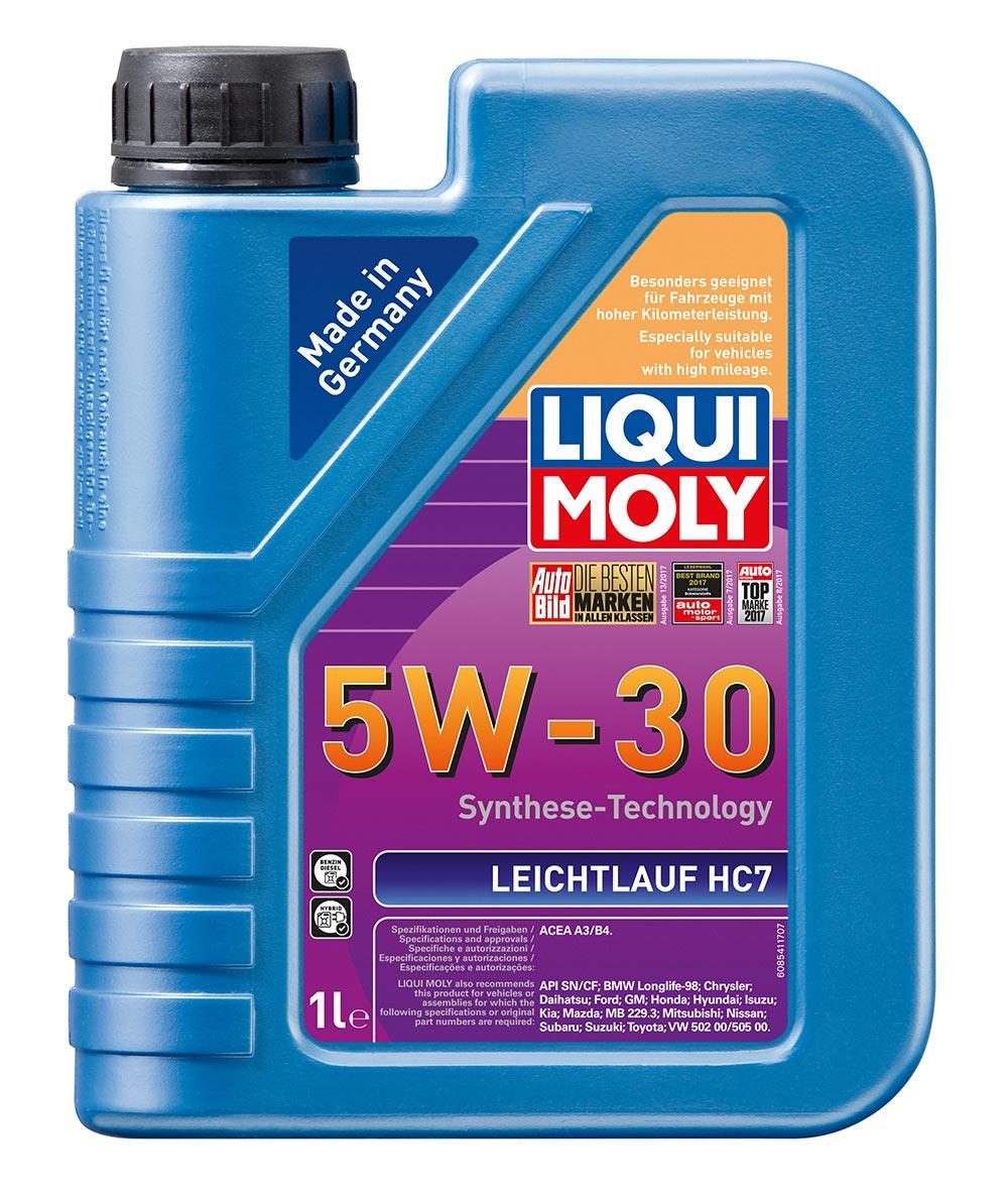 Масло моторное синт.5W30 Leichtlauf HC7 1л ACEA A3 ACEA B4 API SN BMW Longlife-9
