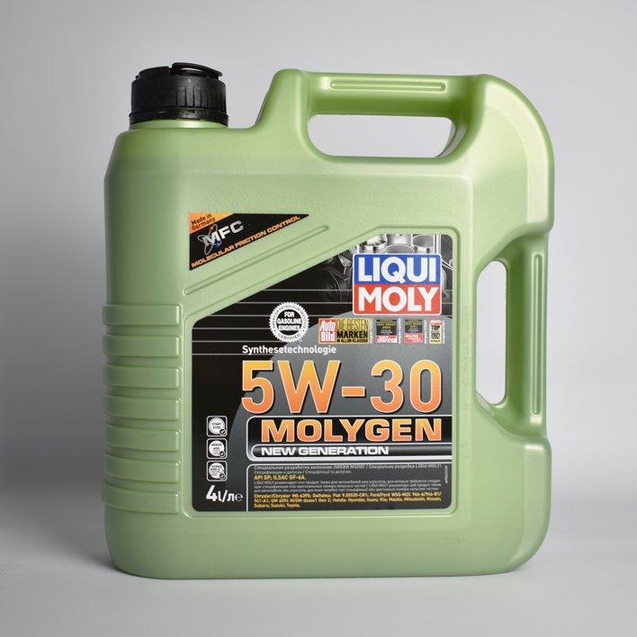 Масло моторное синт.5W-30 Molygen New Generation 4л API SN ILSAC GF-5 Chrysler D