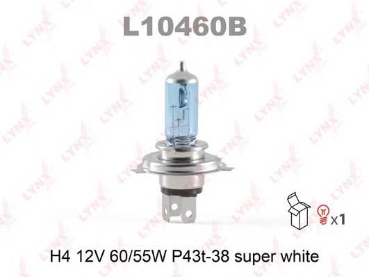Лампа H4 12V 6055W P43T-38 SUPER WHITE
