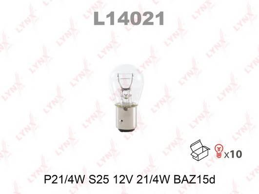 Лампа P214W 12V BAZ15D