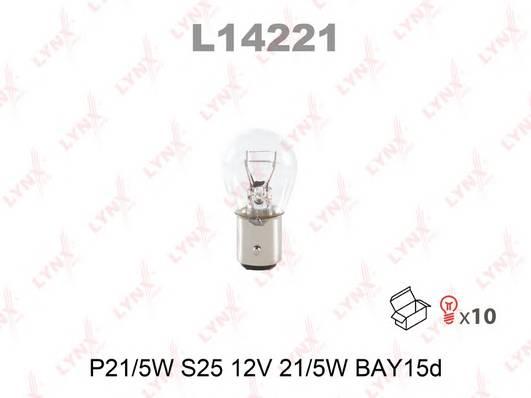 Лампа P21/5W 12V BAY15D