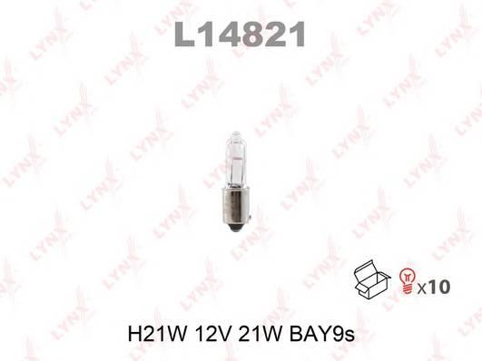 Лампа H21W 12V BAY9S