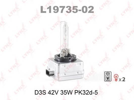 L19735-02 Лампа газоразрядная комплект 2шт. D3S 12V 35W PK32D-5