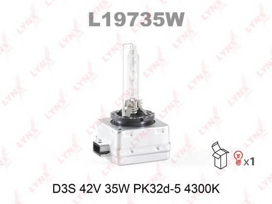 Лампа газоразрядная D3S 12V 35W PK32D-5  4300K