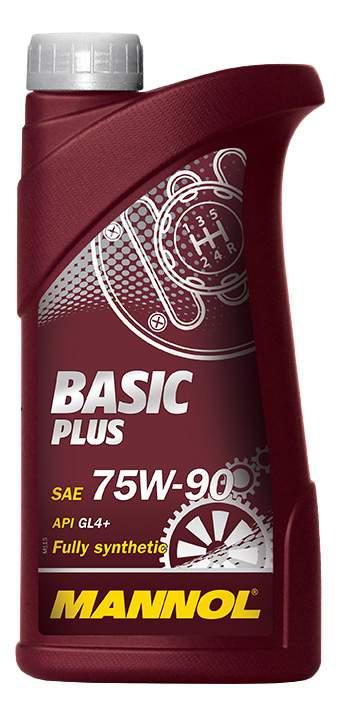 масло спец. для переднеприв API GL4+  MIL-L-2105 MANNOL GL-4  Basic Plus SAE 75w