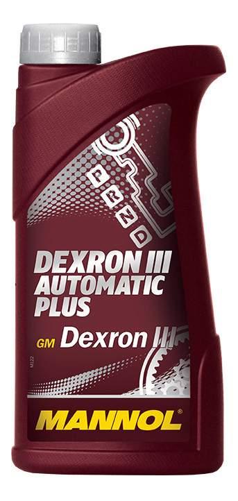трансм.масло MANNOL ATF  Plus  DEXTRON III D  ( 1л)   (20шт) (АКП)