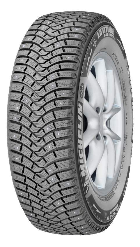 Автошина R20 255/55 Michelin Latitude X-Ice North 2+ 110T (шип)