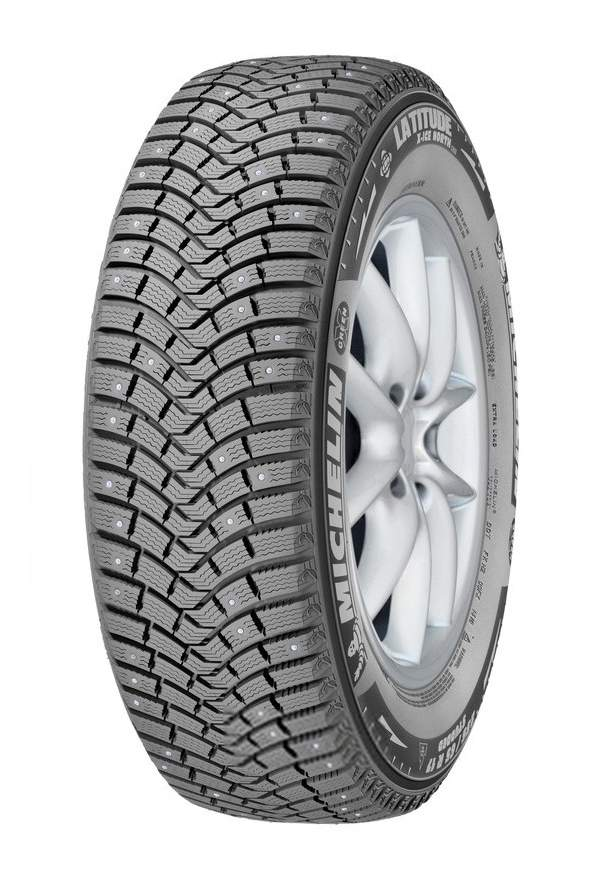 Автошина R18 225/60 Michelin Latitude X-ice North 2+ 104T (шип)