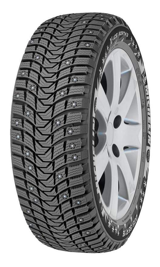 Автошина R16 205/60 Michelin X-Ice North 3 96T (шип)