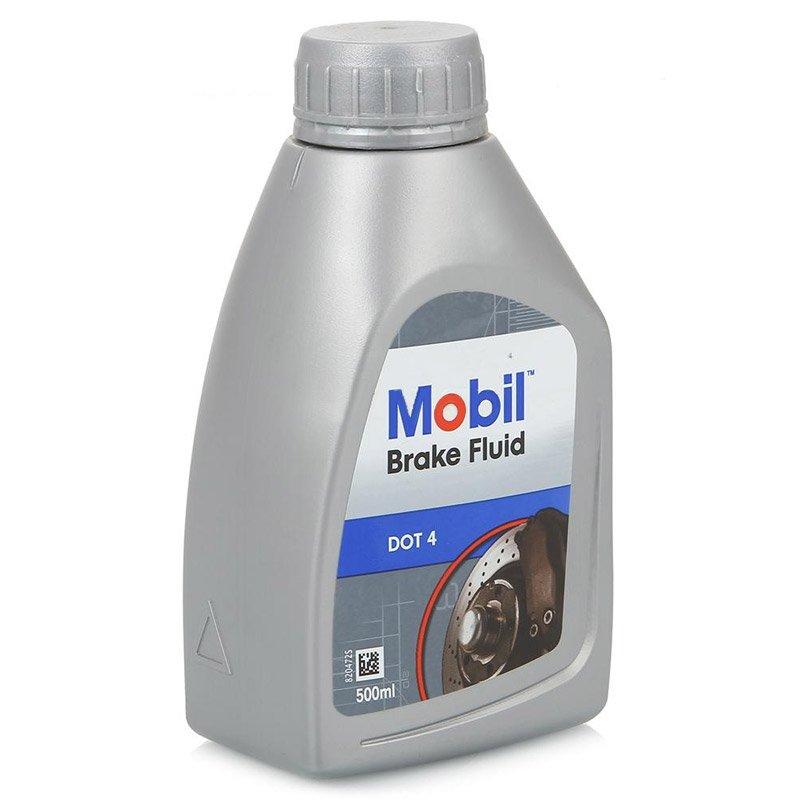 Жидкость тормозная Mobil Brake Fluid DOT 4 0.5л