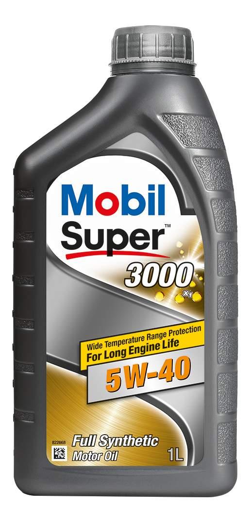 Масло моторное синт. Mobil Super 3000 X1 5W-40 (1л)