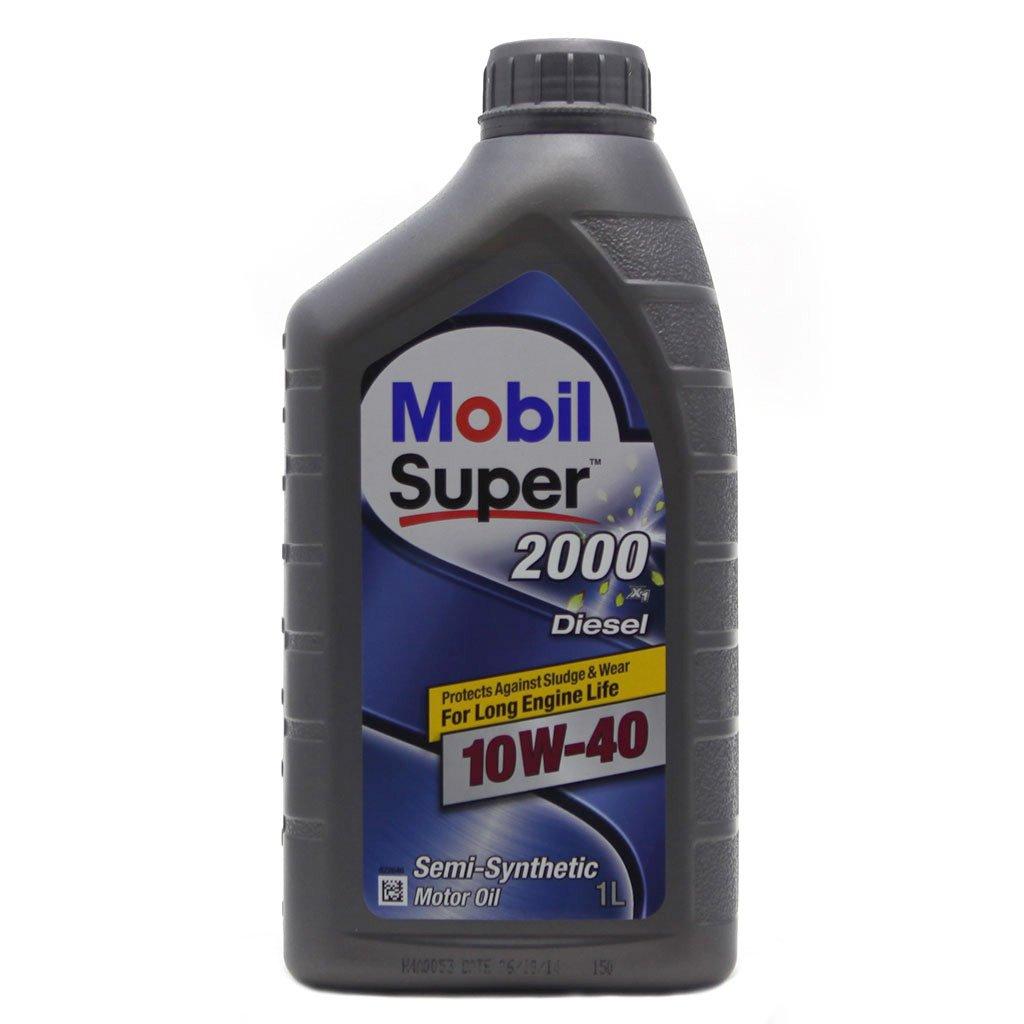 Масло моторное полусинт. Mobil Super 2000 X1 10W-40 (1л)