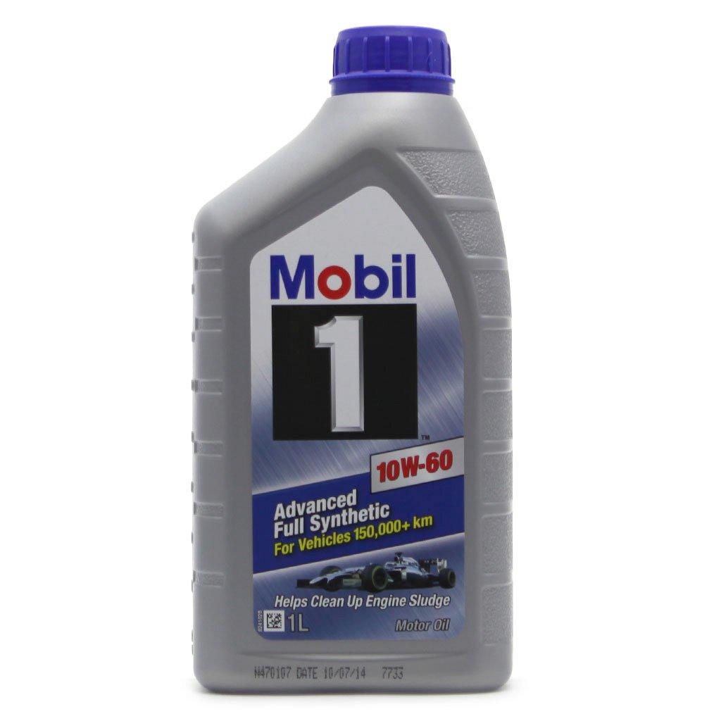 Масло моторное MOBIL 1 10W-60  (1л)