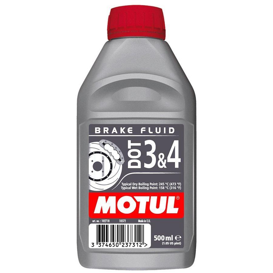 Жидкость тормозная MOTUL DOT 3 & 4 Brake Fluid 0.5л.