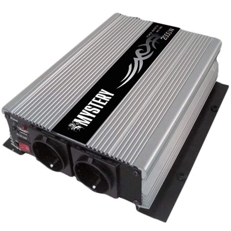 Автоинвертор MYSTERY MAC-1000. мощность 1000вт. USB